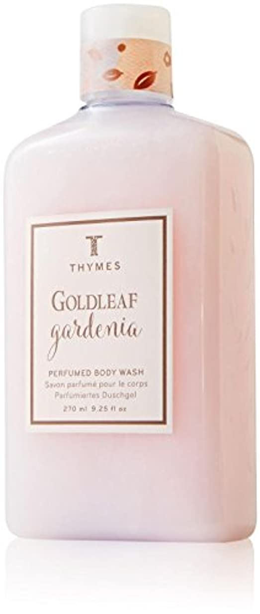 適用するトイレ折Thymes Goldleaf Gardenia Body Wash