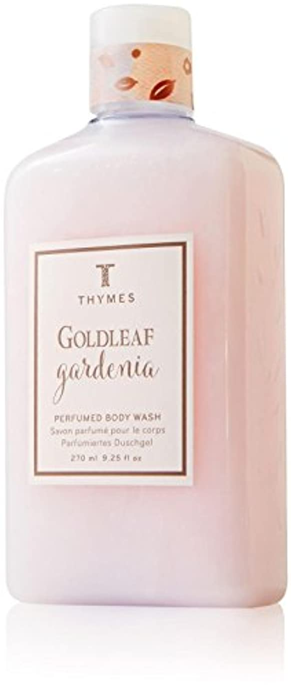 厚さ工業用肘Thymes Goldleaf Gardenia Body Wash