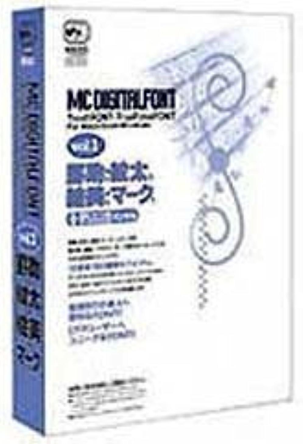 MC DIGITALFONT vol.1 罫助1、紋太1、絵美1、マーク1
