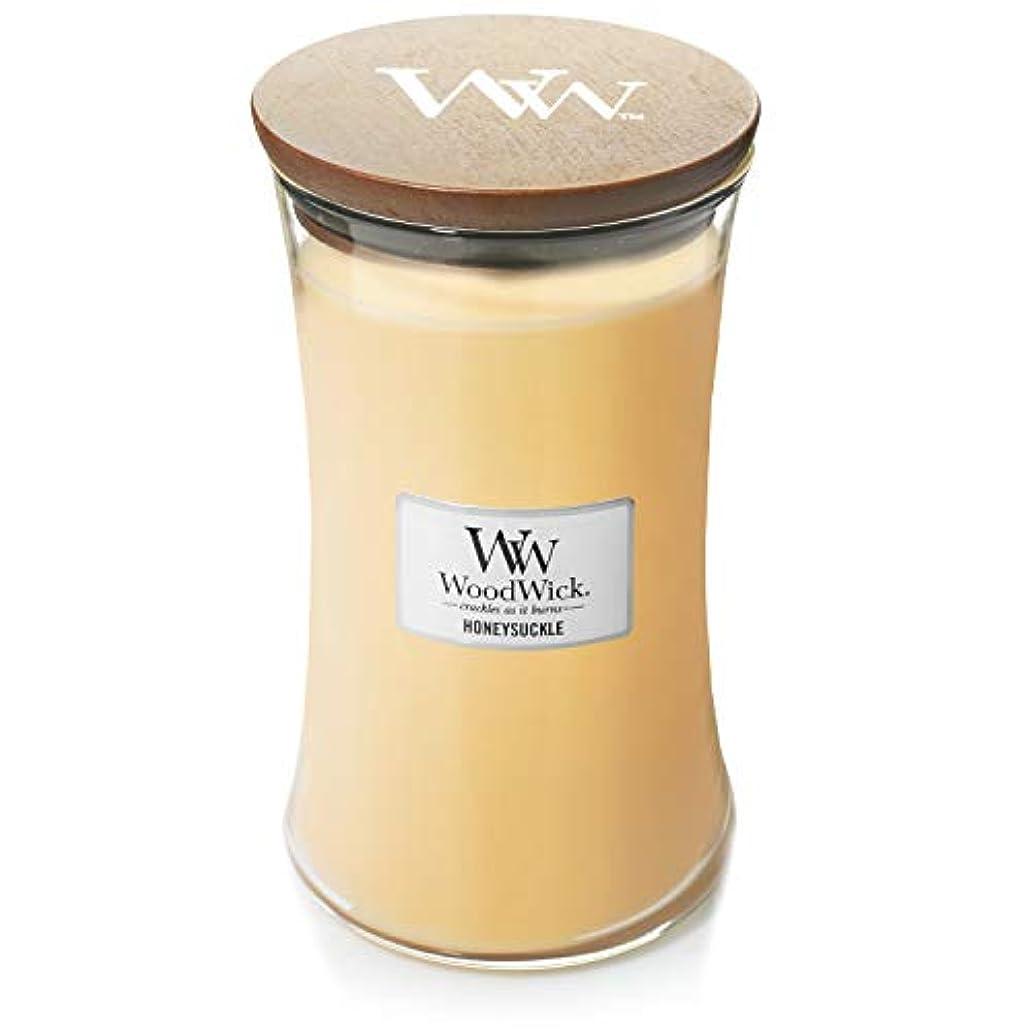 電気陽性滝評論家Woodwick Candle 22オンス – Honeysuckle
