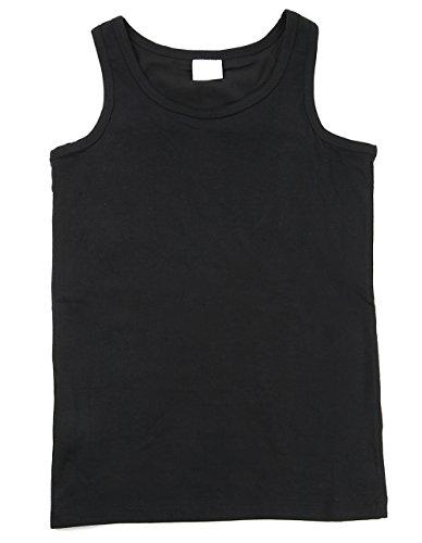 胸つぶし ナベシャツ タンクトップ 3列6段フック&ゴム