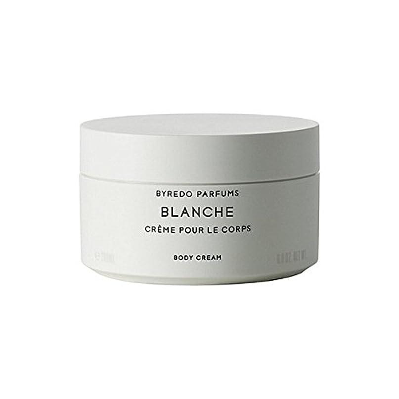 全滅させる是正議論するByredo Blanche Body Cream 200ml - ブランシュボディクリーム200ミリリットル [並行輸入品]