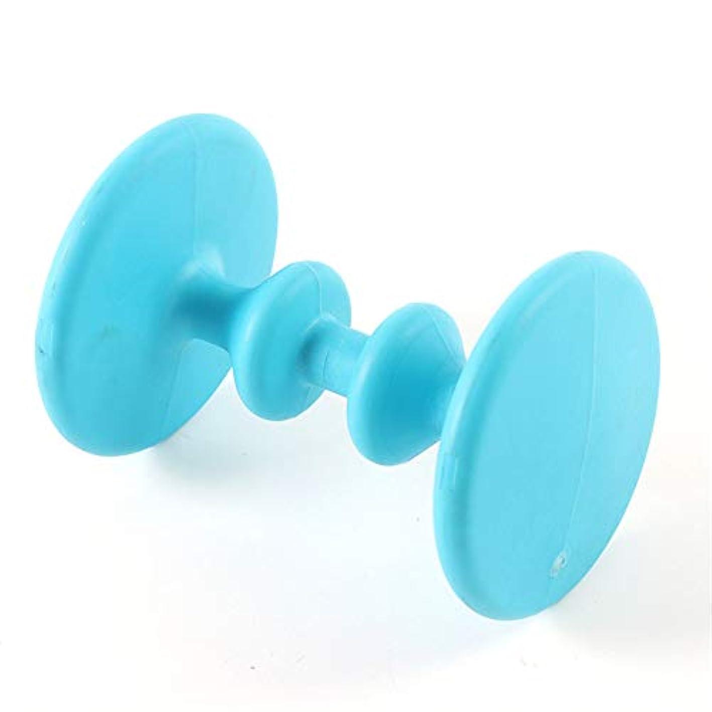 皿軽蔑貢献フットマッサージローラー、Acupointの快適なリラクゼーションツールフットストレスリリーフ、回復と痛みの緩和に最適、ディープティッシュマッサージ,ブルー