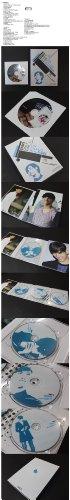 チャンミン 東方神起 ファンサイト 制作 DVD 3枚組 リュージョン ALL 【SPACE ONLY FOR.U / SIM CHANGMIN.PLACE】 『SPECIAL GIFT BOOK』 ( DVD 3枚組 リュージョン ALL / 特典 Special VCD 1枚 )