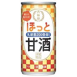月桂冠 ほっと甘酒190g ×6缶