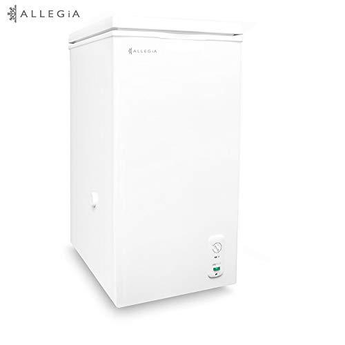 ALLEGiA(アレジア) 冷凍庫 ストッカー(63L) 上開きタイプ フリーザー【省エネタイプ】AR-BD66-NW