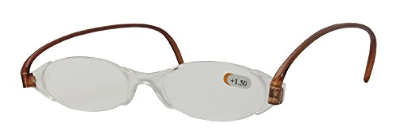 エニックス 超軽量 薄型 しおり型老眼鏡 +2.00 PF-001 +2.00