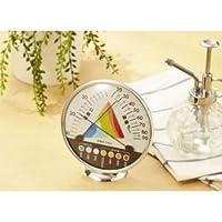 【まとめ 3セット】 DRETEC 快適な温度 湿度がひと目でわかる 快適温湿度範囲表示 温湿度計 O-311WT