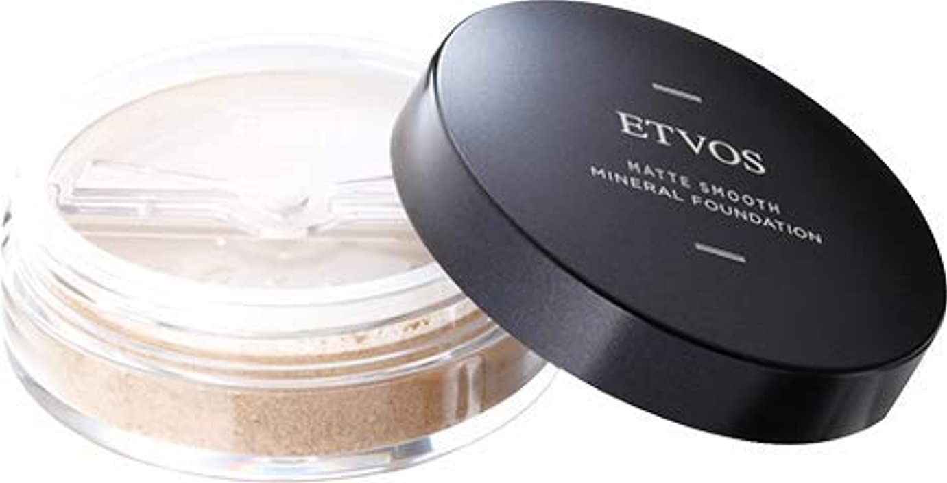 パテ関連付ける衣装ETVOS(エトヴォス) マットスムースミネラルファンデーション SPF30 PA++ 4g #35