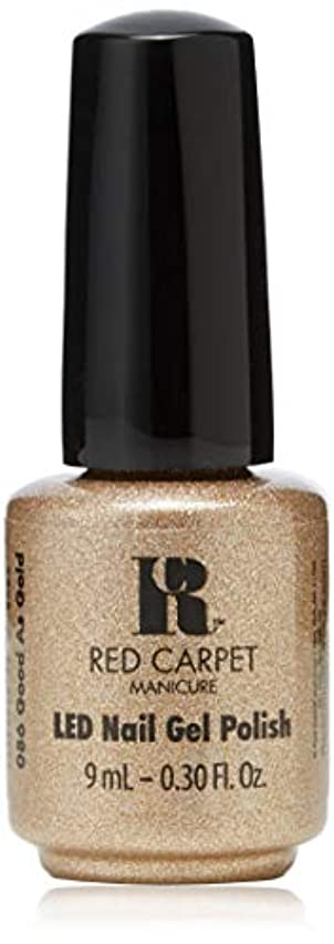 元に戻す続編マニアRed Carpet Manicure - LED Nail Gel Polish - Good as Gold - 0.3oz/9ml