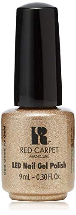 レタッチ電池とにかくRed Carpet Manicure - LED Nail Gel Polish - Good as Gold - 0.3oz/9ml