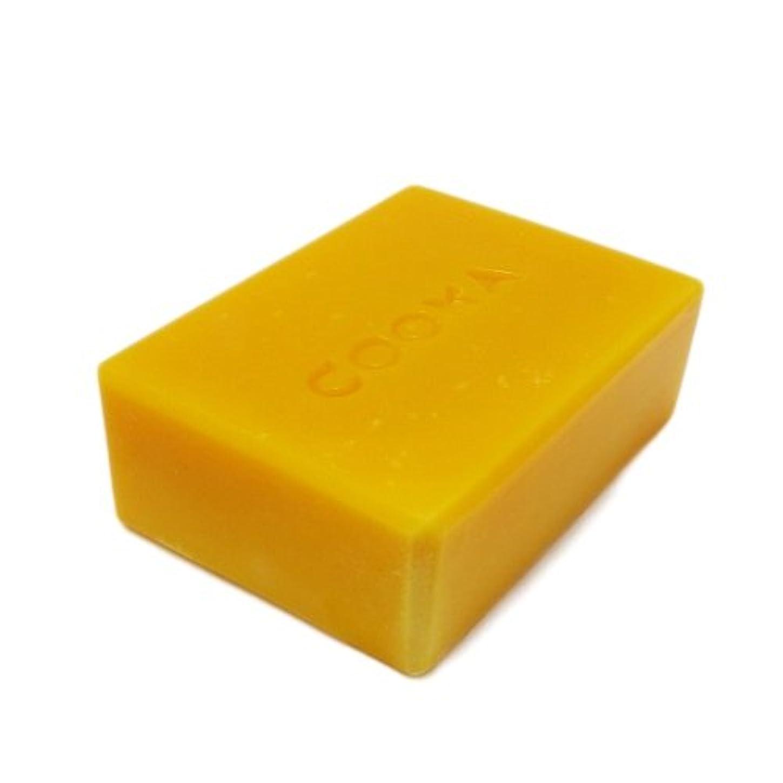 中性昼食貫通する洗顔石鹸 COONAピュアEO石けん マンダリンオレンジ (天然素材 自然派 コールドプロセス 手作り せっけん) 80g
