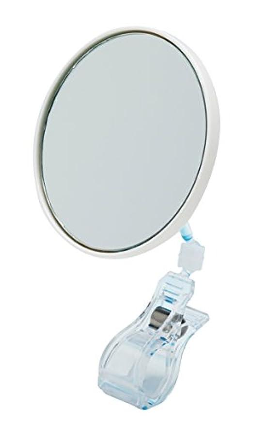 ワンプラスクリップミラー×5倍鏡 拡大鏡 PC-05