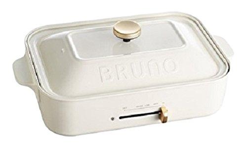 BRUNO コンパクトホットプレート ホワイト BOE021-WH