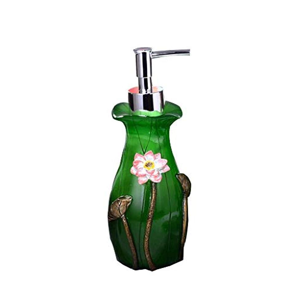 せっけん ソープディスペンサープレスボトルクリエイティブワンハンドサニタイザーボトル空のボトルプレスボトルサブボトルシャンプーフェイシャルクレンザーシャワージェルボトル260ml B