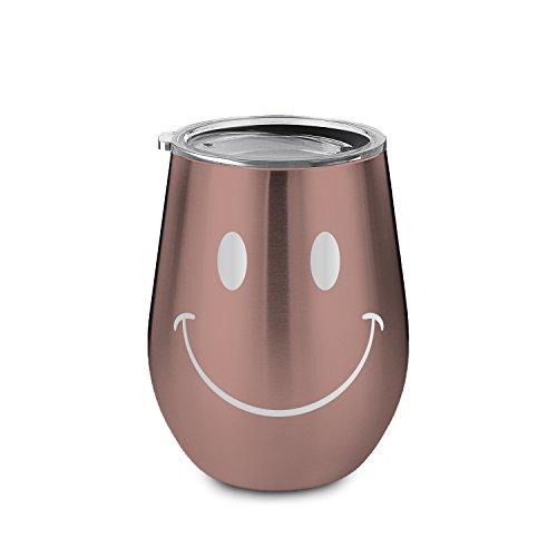 Artoid 300ml ステンレス マグボトル 水筒 タンブラー 笑顔 保温保冷 真空断熱 二重構造 直飲み コーヒー 軽量