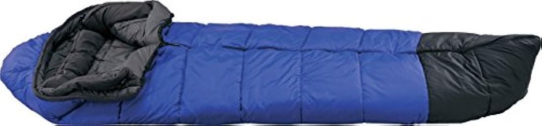 人差し指試用パイプラインイスカ(ISUKA) 寝袋 スーパースノートレック1500 ロイヤルブルー [最低使用温度-15度] 123212