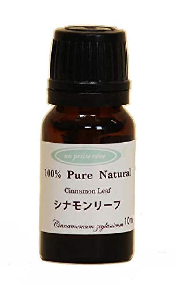 間違い有効化弱まるシナモンリーフ  10ml 100%天然アロマエッセンシャルオイル(精油)