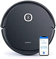 ECOVACS ROBOTICS CO, LTD. DGN22 DEEBOT U2 Pro Robot Vacuum Cleaner, Black