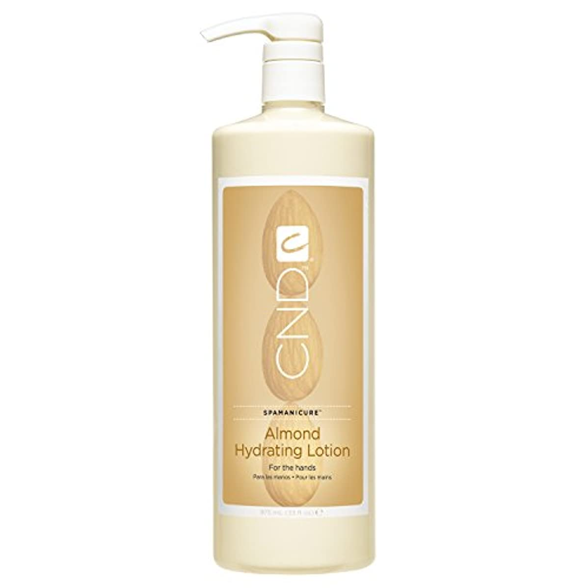 手を差し伸べる腸あえぎCND SpaManicure - Almond Hydrating Lotion - 33oz