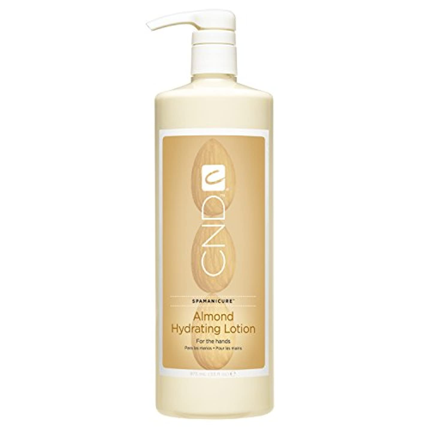挑発する可能にする瞳CND SpaManicure - Almond Hydrating Lotion - 33oz