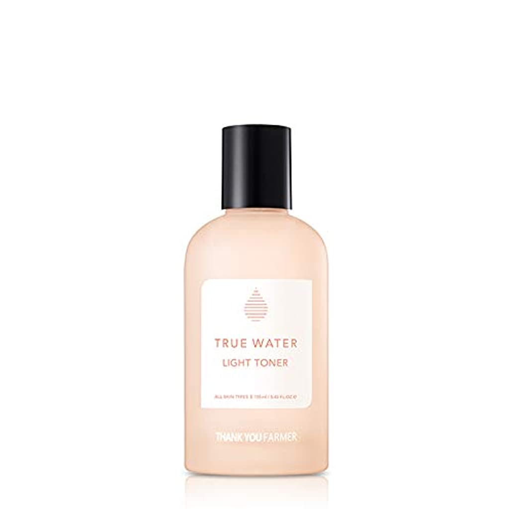 好色な不潔弱点THANK YOU FARMER トゥルーウォーター ライト トーナー 化粧水