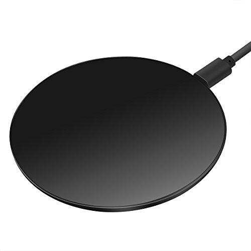 Te-Rich ワイヤレス充電器 Qi 急速充電 超薄型 超軽量 置くだけ充...