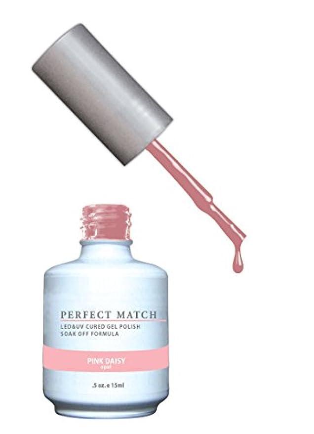 明確なスラムファセットLECHAT Perfect Match Nail Polish, Pink Daisy, 0.500 Ounce