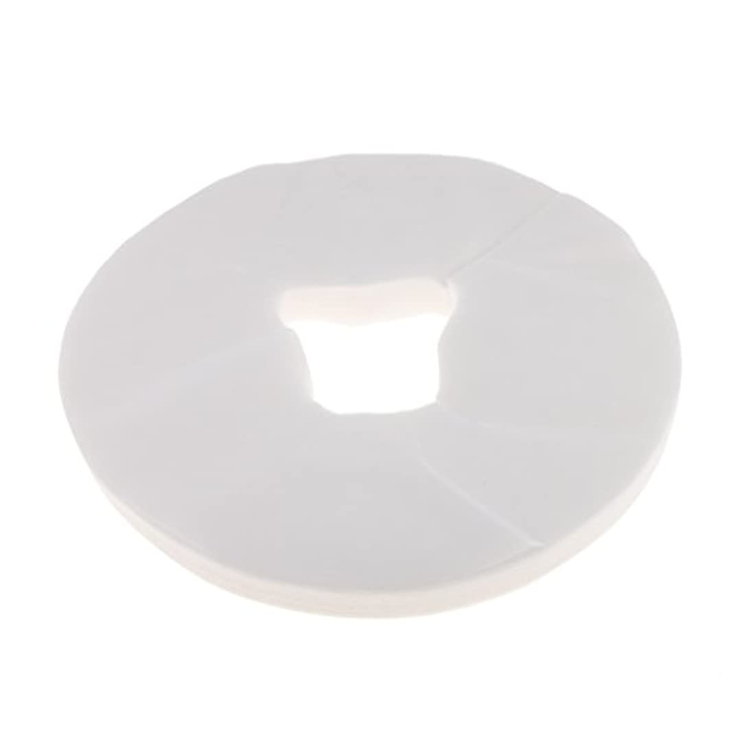 P Prettyia マッサージ枕カバー シート マッサージテーブル 使い捨て フェイスクレードルカバー 衛生的