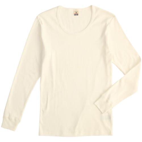 (ヘルスニット)HEALTHKNIT Long Sleeve T-shirts HT-002  OFF WHITE M
