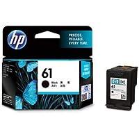 (まとめ)HP HP61 インクカートリッジ 黒CH561WA 1個 【×3セット】 〈簡易梱包