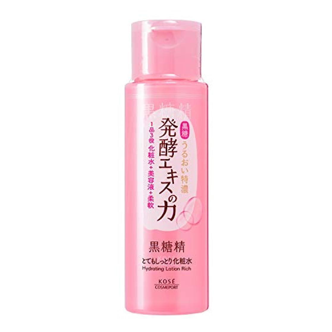 翻訳者慈善通路KOSE 黒糖精 とてもしっとり化粧水 180mL