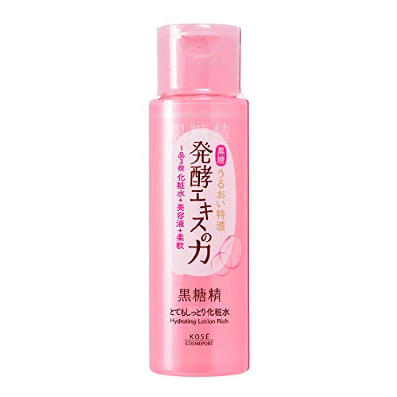 松安全性意気揚々KOSE 黒糖精 とてもしっとり化粧水 180mL
