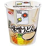 サッポロ一番 豆乳味噌うどん(キッコーマンソイフーズ豆乳使用) 1ケース(12食入)
