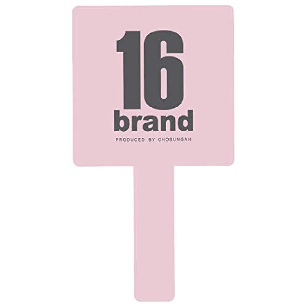 私たちのもの消費する保護する16brand(シックスティーンブランド) GANGS HAND MIRROR(ギャングス ハンドミラー) BABY PINK (1個)