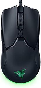 Razer Viper Mini ゲーミングマウス 小型 軽量61g 8500DPI 6ボタン 光学スイッチ 柔らかい布巻ケーブル Chroma対応 【日本正規代理店保証品】 RZ01-03250100-R3M1