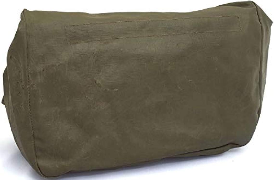 ほんのビリーヤギラベルスイス軍 PVCガスマスクバッグ