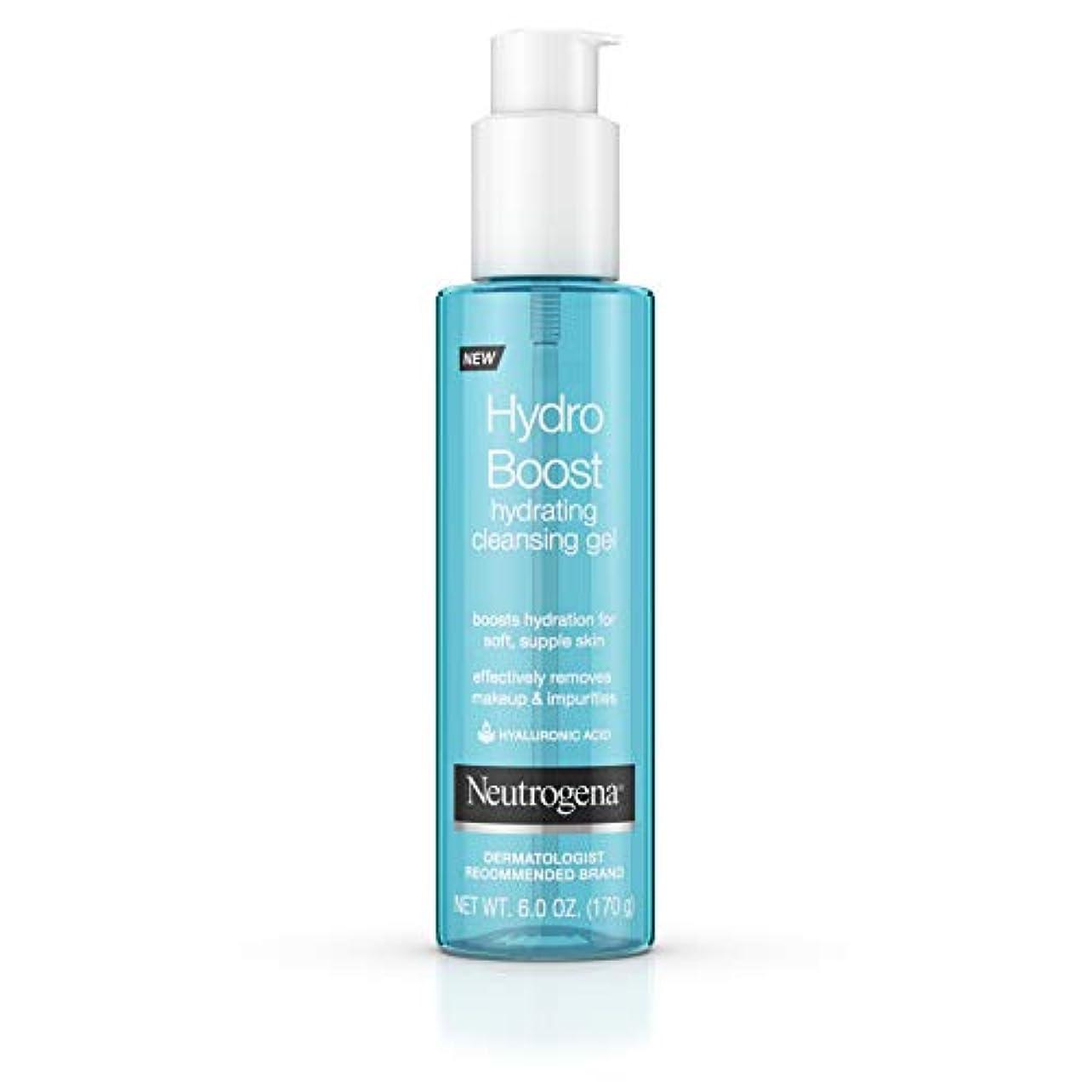 服樹木脈拍Neutrogena Hydro Boost gel-cream、extra-dryスキン