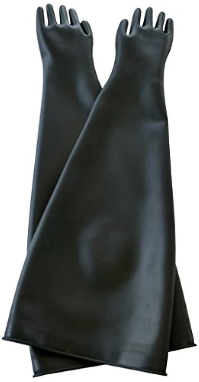 ビーム上向き科学者ハナキゴム グローブボックス用手袋ハナローブ 7885 1双