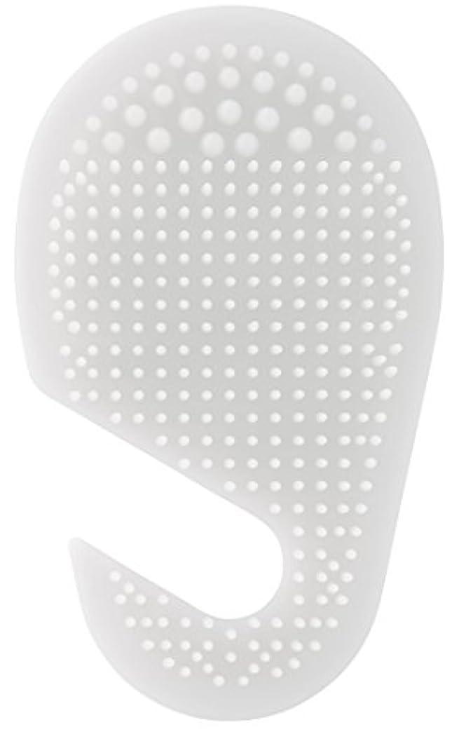 追跡インターネットニックネームスケーター 足の裏用 マッサージ ブラシ 10.2×2×17cm ホワイト SLFT1