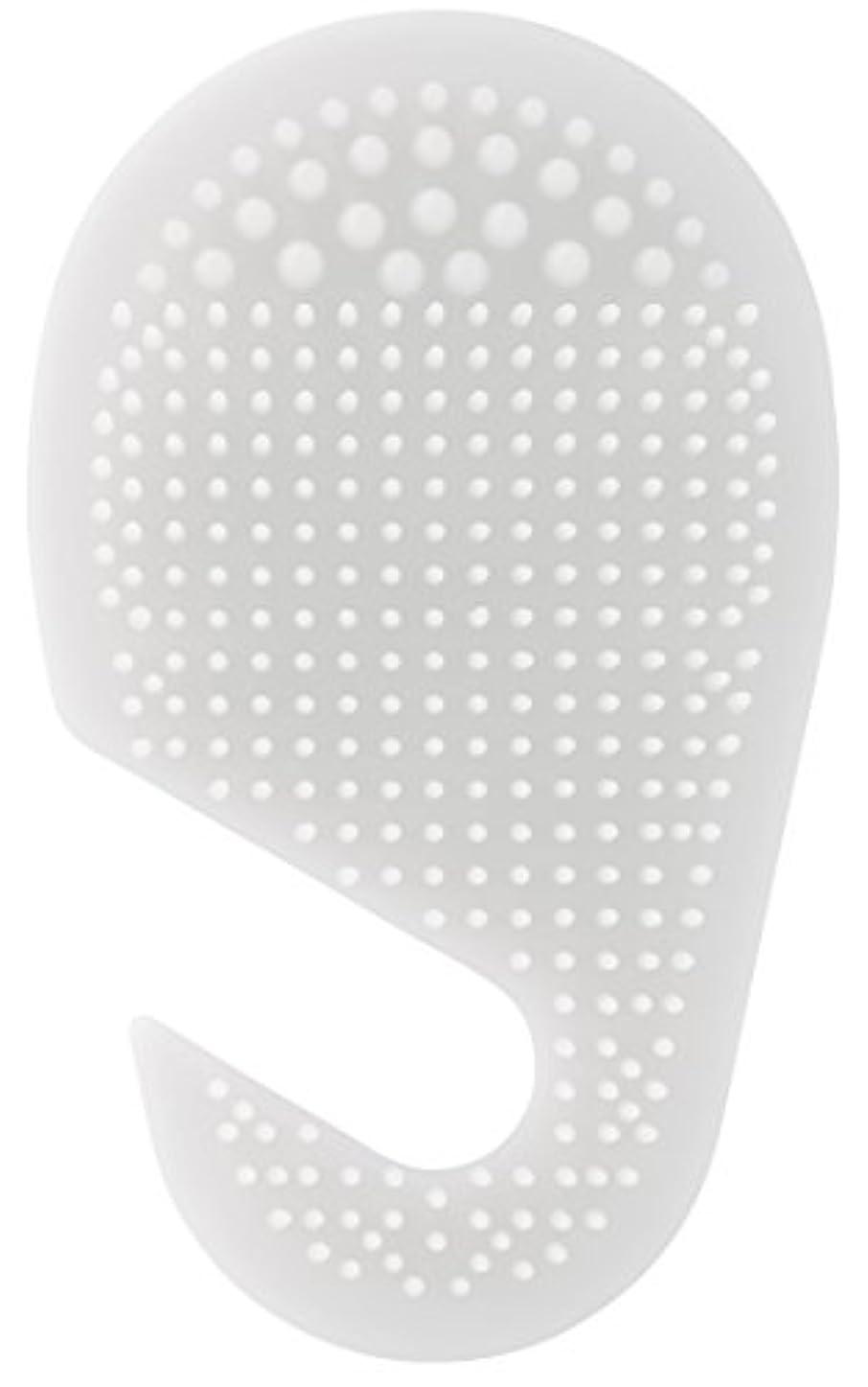 優勢意識的レガシースケーター 足の裏用 マッサージ ブラシ 10.2×2×17cm ホワイト SLFT1