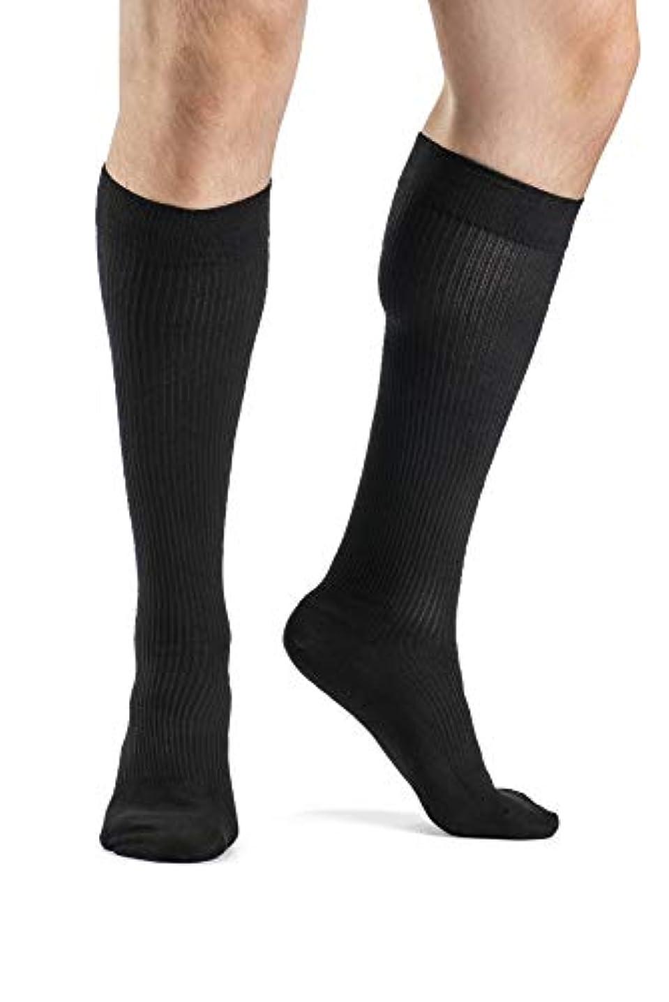 効率的割れ目する必要があるSigvaris Men's Support Therapy Casual Cotton Moderate Support Socks by Sigvaris