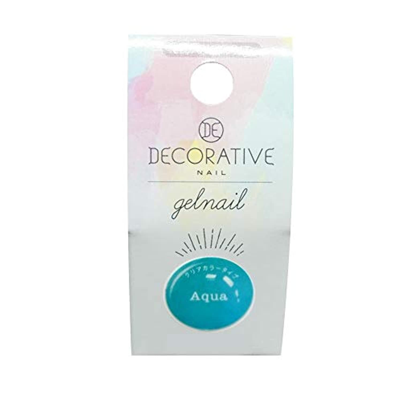 DECORATIVE NAIL デコラティブネイル ジェルネイル カラージェル アクア(クリアカラータイプ) TN81260