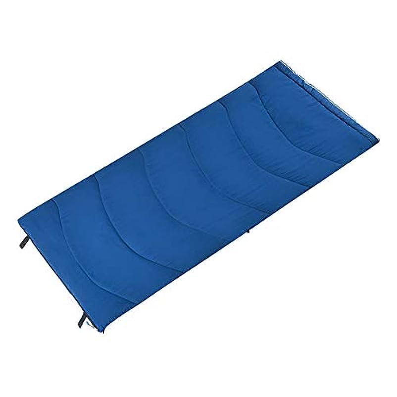 義務づける今日保存Durable,breathable,comfortableスリーピングバッグ、ポータブル封筒睡眠袋スプライス大人暖かい睡眠パッド防風屋外屋内睡眠袋温度範囲 0~20 ° f,Navy,190*84cm