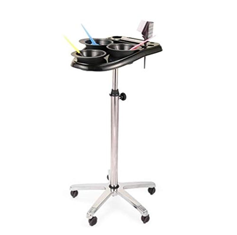 用量勃起電子レンジサロントロリー3染料ボウルローリングサロンモバイルヘアサロン楽器トレイ調節可能な高さトロリーサロン美容ヘアサービスツール