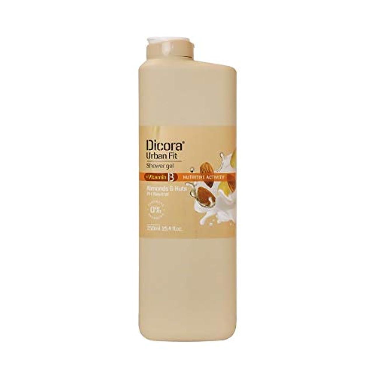 潤滑する系譜首謀者Dicora(ディコラ) ディコラ アーバンフィット シャワージェル MK&ML 400ml ボディソープ アーモンド & ナッツの香り 750ml