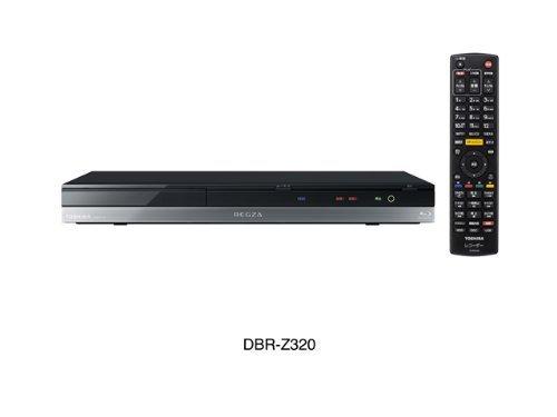 東芝 1TB 2チューナー ブルーレイレコーダー REGZA DBR-Z320