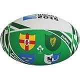 Gilbert 2015Rugby World Cupアイルランド国旗ラグビーボール、5