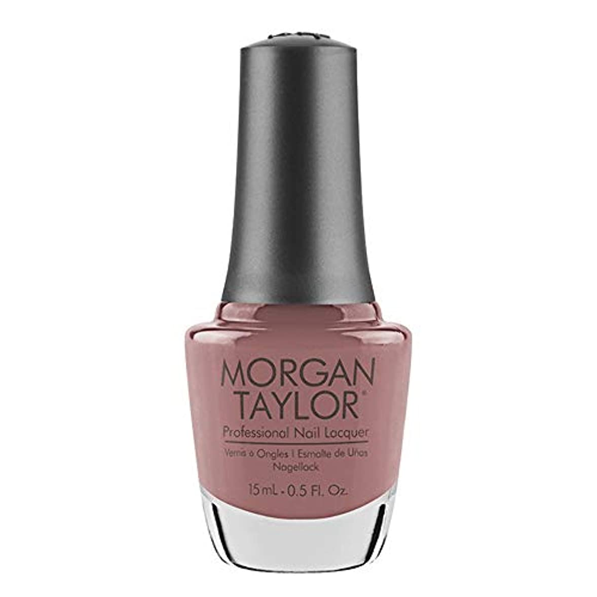矛盾平野属するMorgan Taylor - Professional Nail Lacquer - Mauve Your Feet - 15 mL / 0.5oz
