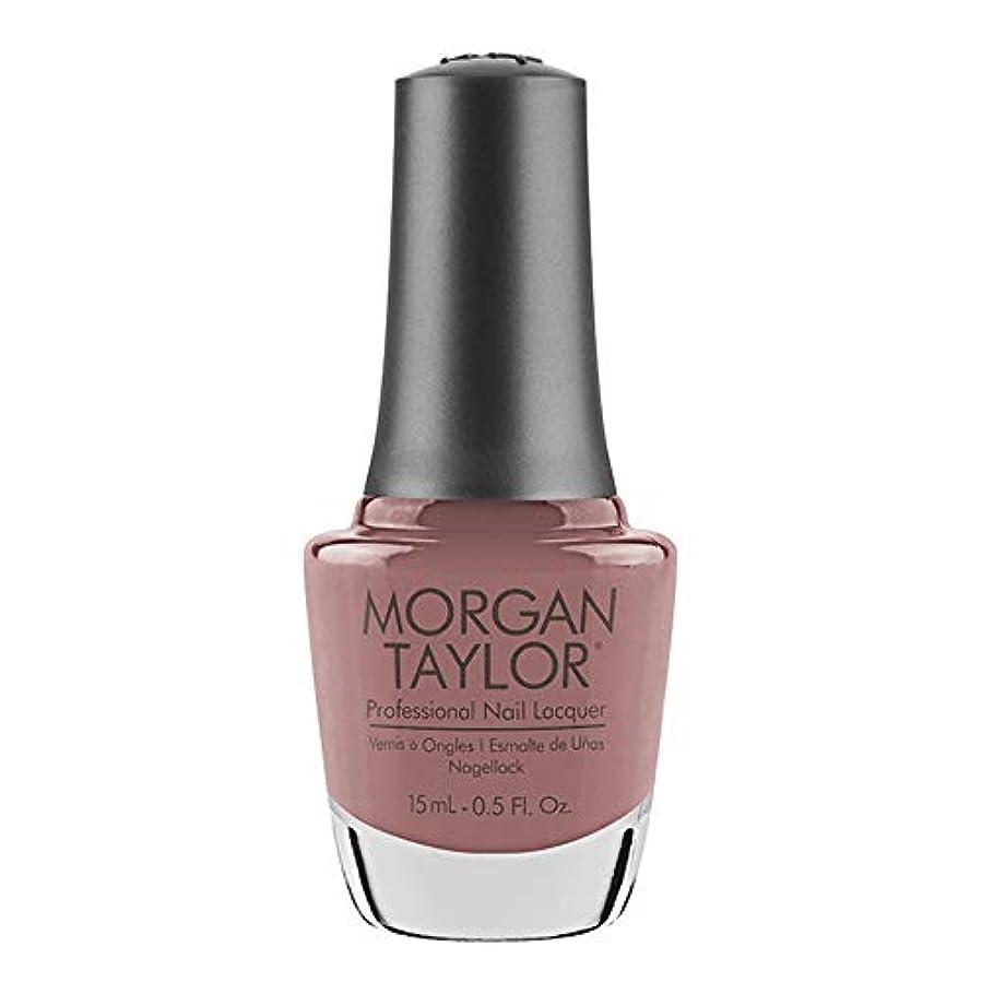便利ジャンクション落ち着いてMorgan Taylor - Professional Nail Lacquer - Mauve Your Feet - 15 mL / 0.5oz